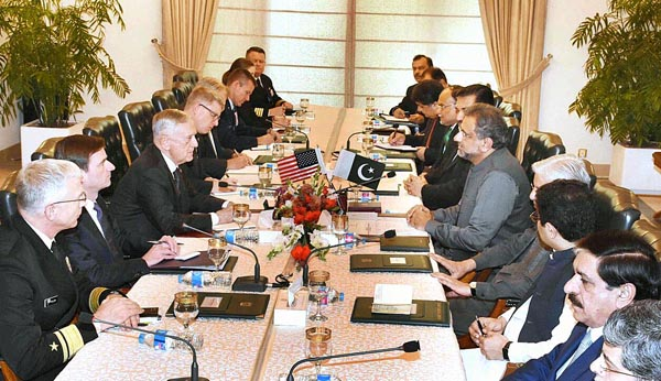 No safe havens in Pakistan; PM tells Gen Mattis