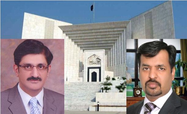 CM Sindh & Kamal appear before SC in Water pollution case