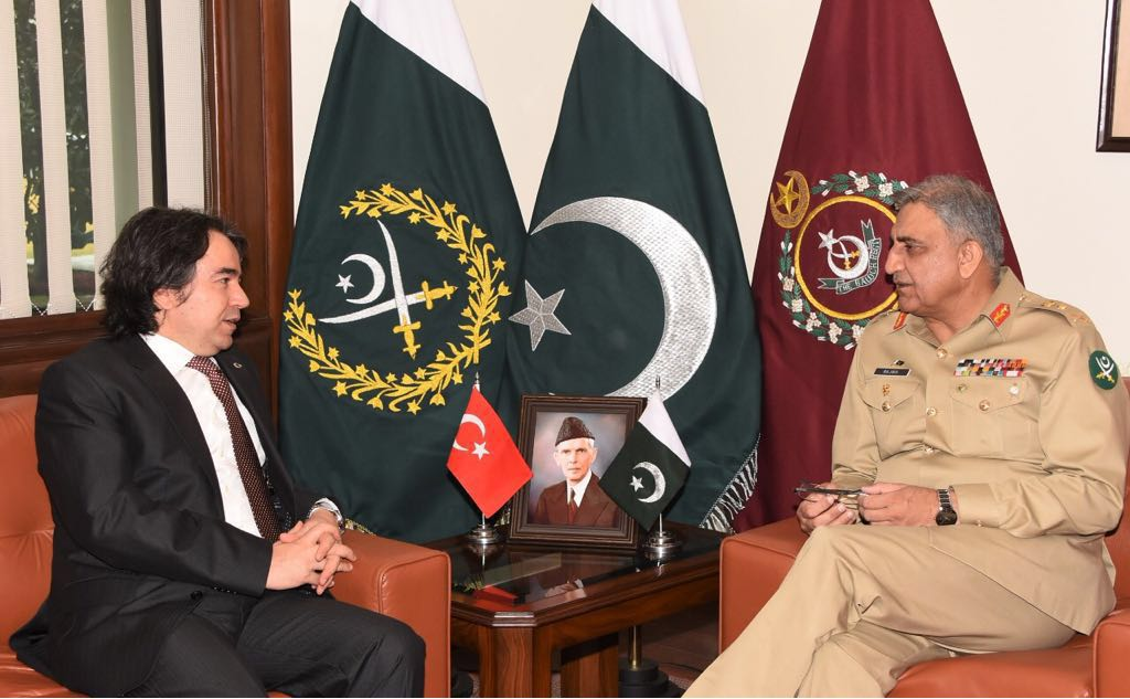 Newly appointed Turkish Ambassador calls on COAS