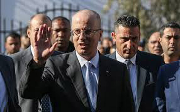 Palestinian PM safe in Gaza after explosion near convoy