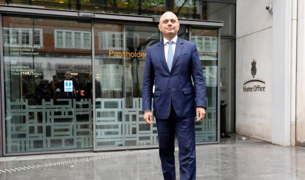 Sajid Javid to be new home secretary after Rudd resigns
