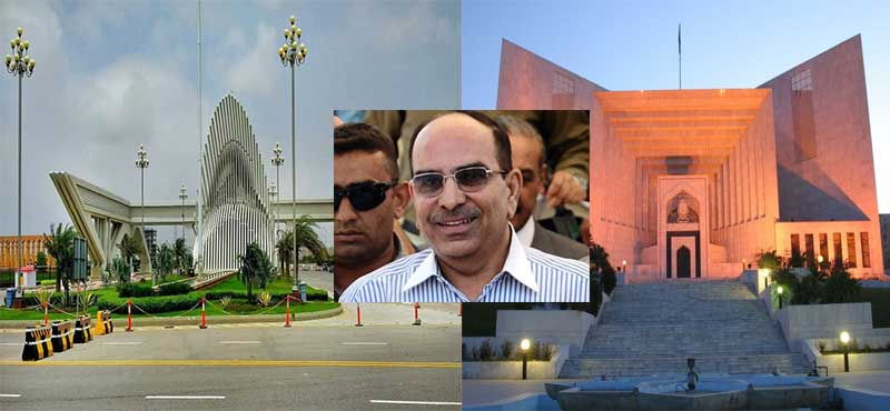 SC striped Bahria Town from selling or allotting land in Karachi project