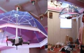 Japan 'drone-brella' promises hands-free sun cover
