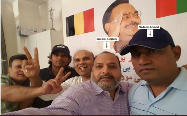 After Britain, Belgium became a safe haven for MQM leaders