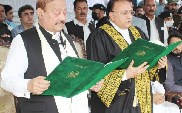 Barrister Sultan sworn as 28th President of AJK