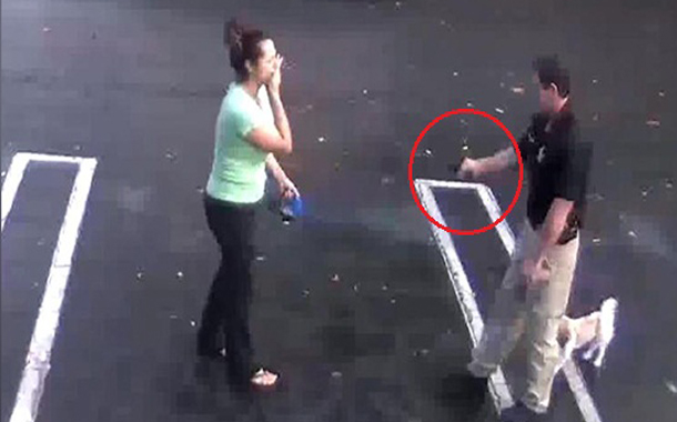 US cop shoots ex-girl friend while on duty, shocking video goes viral