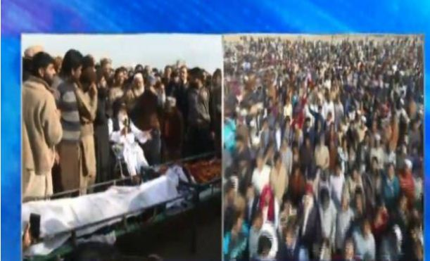 Funeral prayers of slain protesters offered in Kasur amid grief, anger