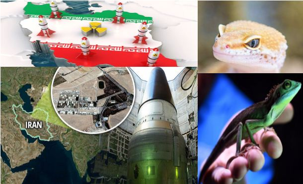West used Lizards for nuclear spying on Iran