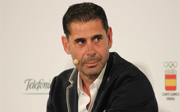 Spain name Fernando Hierro as coach after sacking Lopetegui