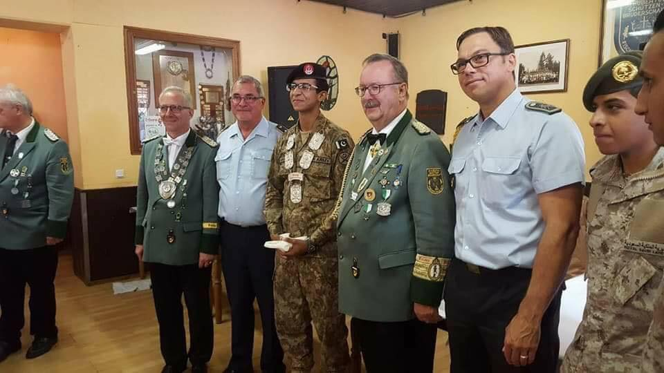 Pak Army cadet Mahad Ijaz wins shooting competition in Germany