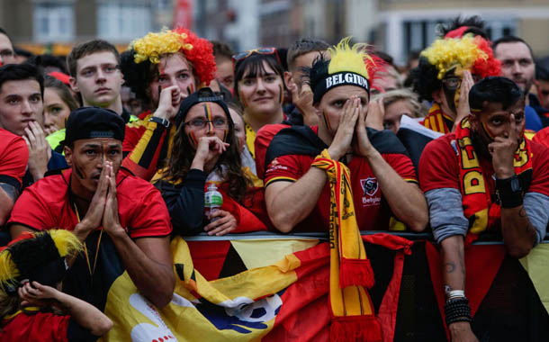 Sadness as Belgium's 'golden generation' exit World Cup