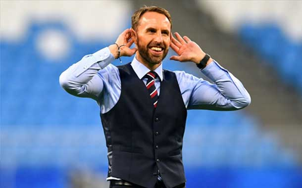 Waistcoat Wednesday fever every where as England to face Croatia in FIFA world cup Semi-Final