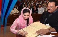 PMLN's Sania Ashiq sworn in as youngest parliamentarian
