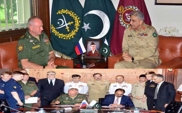 Pakistan, Russia ink historic military cooperation pact