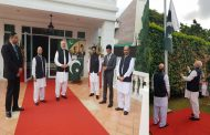 Flag Hoisting Ceremony held in Singapore on the occasion of Pakistan's Independence Day
