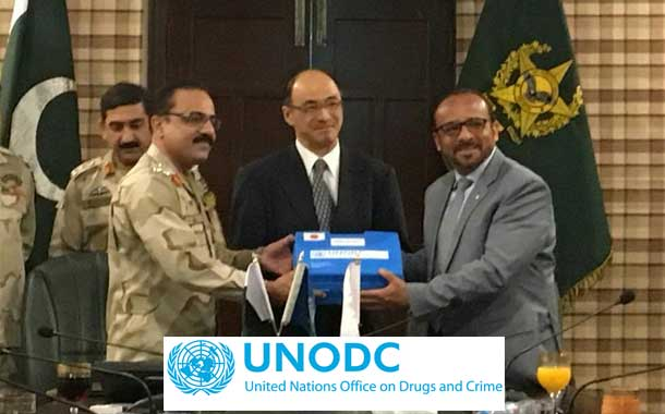 Japan & UNODC stands committed to build the operational capacity of ANF