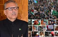 Pakistan would continue moral, political and diplomatic support to the Kashmiri people: President Arif Alvi