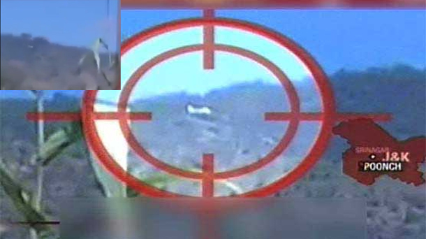 Confused Indian military targets helicopter of AJK premier