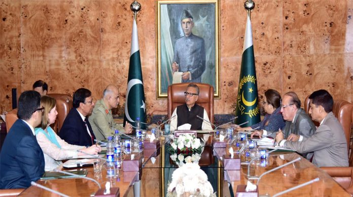 Provision of better health facilities to people govt's top priority: President Alvi