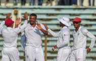 West Indies' Gabriel banned for second Bangladesh Test