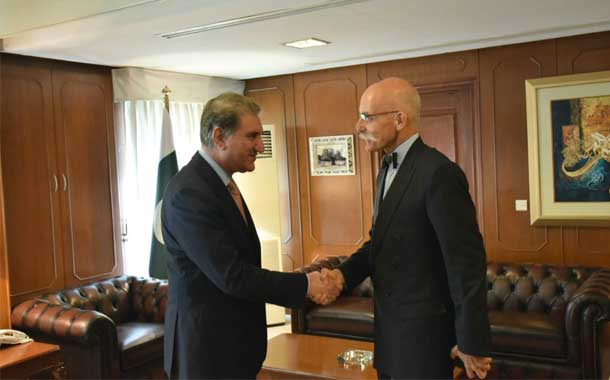 Shah Mahmood Qureshi seeks promotion of trade relations with European Union