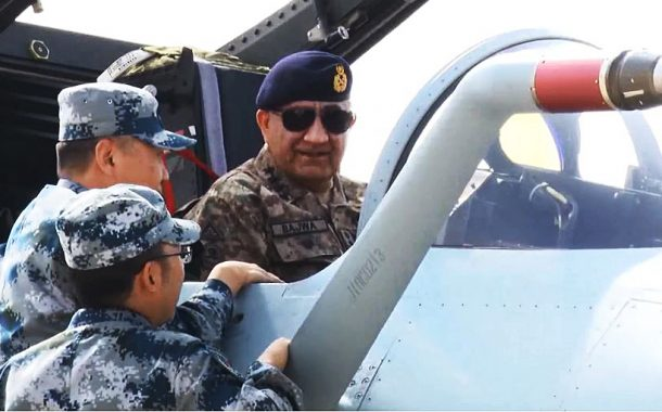 Army Chief witnesses Pak-China International Air Exercise