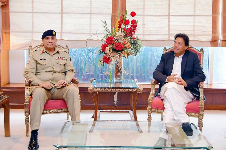 PM Imran Khan & COAS General Qamar Javed Bajwa discuss important issues