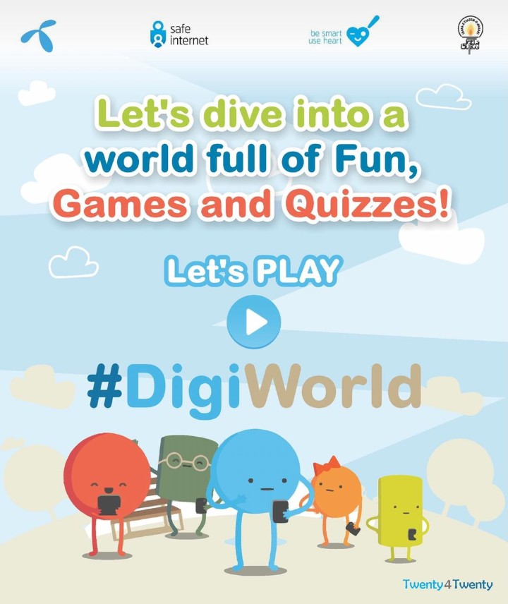 ITA and Telenor launched a Campaign 'DigiWorld', for online knowledge