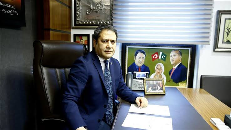 Pakistani students in Turkey are Amanat of Jinnah.Ali Shahin, Deputy Foreign Minister EU Affairs, Turkey.