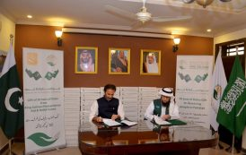 KSrelief Pakistan launched a Project to distribute 50 tons of dates